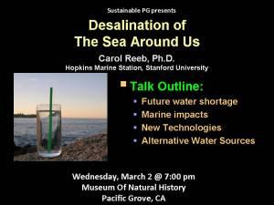Desal Talk, 2 Mar 2011